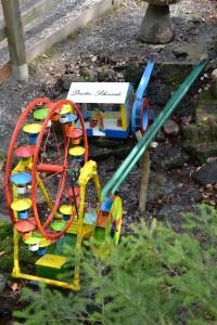 Riesenrad und Deisterschmiede